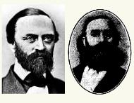 ritratto di Gunnar Olof Hyltén-Cavallius e George Stephens